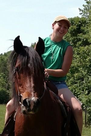 Linsay Baker Clark horse